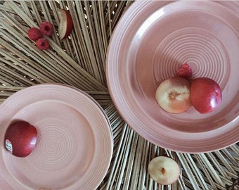 Vintage Blush plates