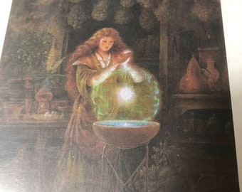 """APRILSALE Heaven and Earth Designs """"Scent of Magic"""" Artwork by Kinuko Y Craft Arts counted cross stitch pattern"""