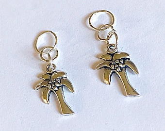 Palm Tree Hearing Aid Charms Accessories