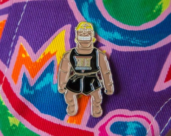1992 Stretch Armstrong Pin