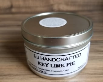 Key Lime Pie Candle Tin