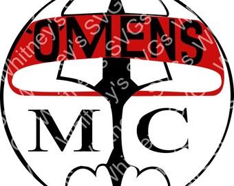 Omens MC SVG DXF Cutting File