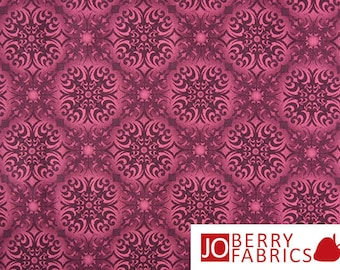 Fuchsia Fabric, Shangri-La Collection by Jason Yenter for In The Beginning