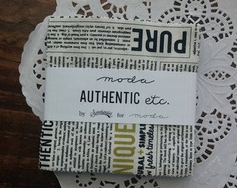 Authentic Etc Charm Pack by Sweetwater for Moda Fabrics