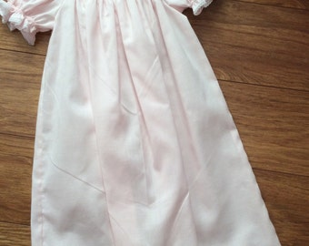 Baby Girls Infant Toddlers Hand Smocked Daygown