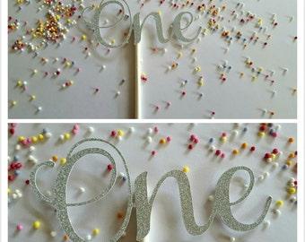 Birthday Cake toppers, glitter card cake toppers, cupcake toppers, 1st birthday, 21st, 30th, 40th, 50th, 60th, cake decoration, cake smash