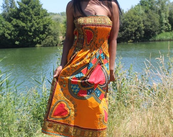 African Dress African Print Dress Dashiki Dress African Clothing For Women Festival Clothing Boho Dress Ethnic Dress Ethical Clothing Kente