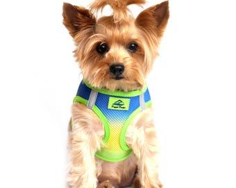 American River Choke-Free Dog Harness - Cobalt Sport Ombre 60952
