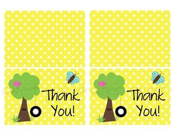 Thank you Cards- Spring Fun Party