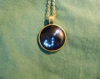 Zodiac star Scorpio necklace