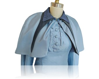 Fleur Delacour Beauxbatons Dress and Caplet Costume Size Small-- Ready to Ship!