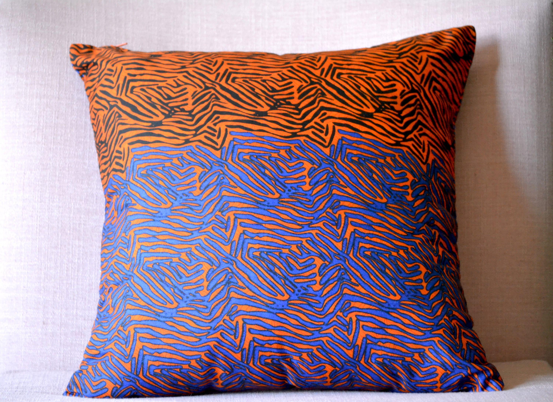Ila Ankara Throw Pillow Cover African Print 18 x 18