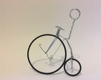 Vintage Penny Farthing Bicycle Table number holder