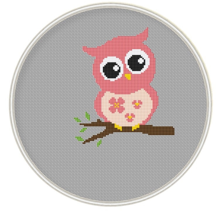 Counted cross stitch pattern Instant Download Free shipping