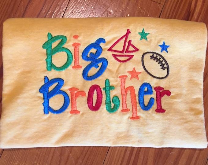 Big Brother Embroidery Tshirts