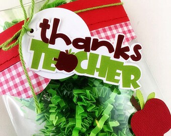 KITS Teacher Appreciation Gift Card Holder / Pillow Box / Thanks Teacher / Gift Cards / Treat Box /