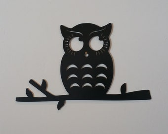Marvelous Owl On Branch Metal Art, Owl Metal Art, Owl Wall Decor, Owl Home Decor, Owl  Wall Hangings