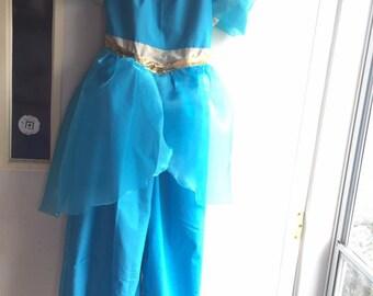 Jasmine Inspired Romper or Dress Costume---Sizes 6M-8