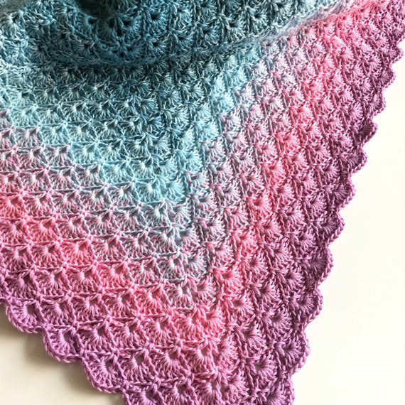 Resultado de imagem para shell stitch crochet