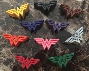 Wonder Woman Crayons