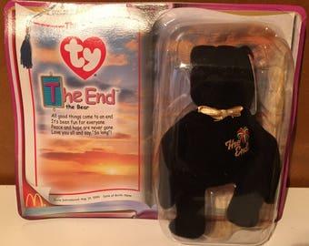 Beanie Baby, The End Bear, McDonald promo.