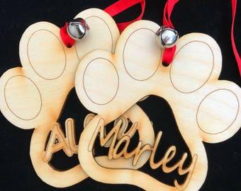 Pet Christmas decoration/bauble