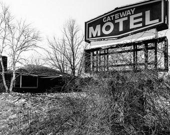 Gateway Motel Fine Art Photographic Print