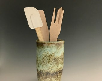 Handmade Ceramic Kitchen Utensil Holder  B