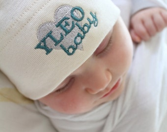 YLEO Heart Baby Knot Hat  -  American Apparel - You choose the colors