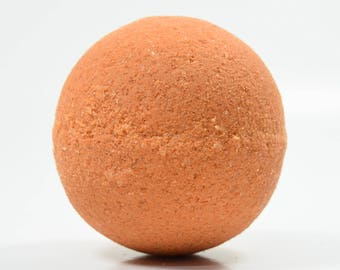 Apricot Bath Bomb with Epsom Salts - Bath Bomb, Moisturizing Freshly Handmade Bath Fizzy