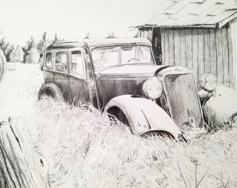 Forgotten in Havana by ArtisticCurve, Old Truck Art, Lost in Time Artwork