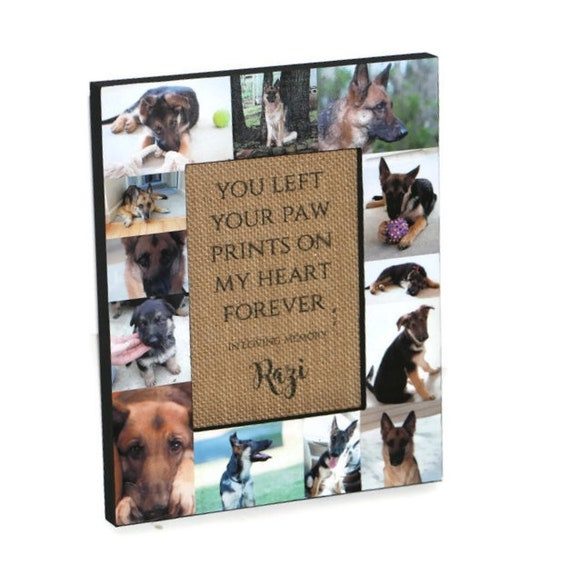 Loss of Pet You left a paw print on our hearts forever Pet