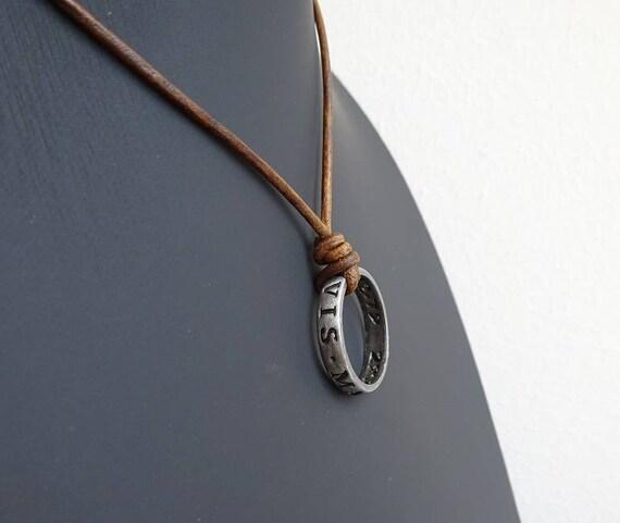 Nathan drake ring pendant nathan drakes ring necklace aloadofball Images