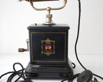 Antique telephone of the Jydsk of around 1900