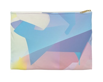 Holographic World Accessory Pouch