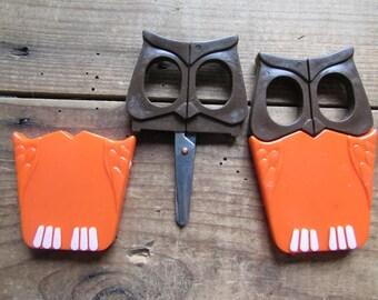 Scissors Owl Safety School Scissors Vintage Children's Scissors
