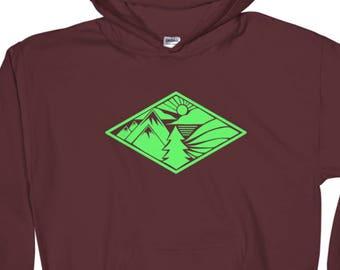 Green Diamond MTN Hoodie