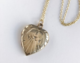Celestial Circa 1910 Heart Locket