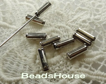 50 pcs Silver Plated Stick- Pin Cover,Nickel Free