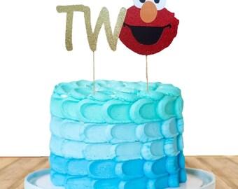 Elmo cake topper Etsy