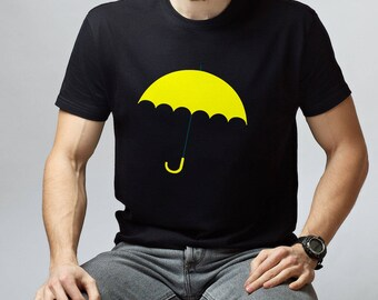 HIMYM Ted Mosby himym Gift Yellow Umbrella How I Met Lily And Marshall Himym Tee Shirt Yellow Umbrella Shirt How I Met Your Mother ANM1015