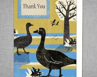 Park Life, Happy Birthday, Goose Card