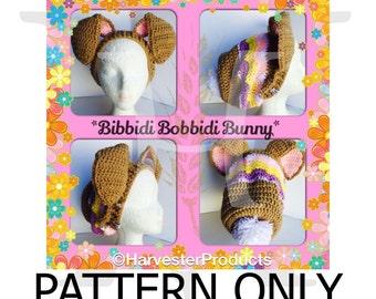 Bibbidi Bobbidi Bunny Crocheted Slouch Hat Pattern