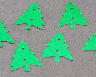 Confetti glitter Christmas trees Christmas 15 mm x 1000