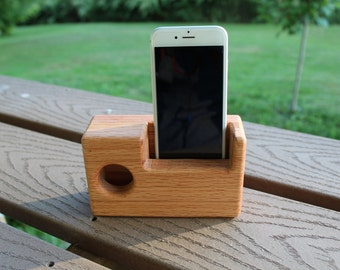 Oak Passive Speaker for Phones/iPhone/iPod