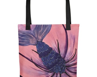 Merflower Tote bag