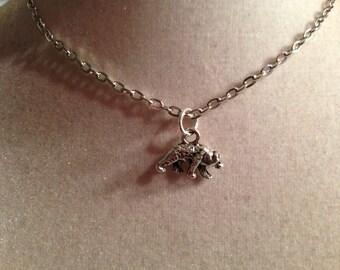 Bear Necklace - Silver Jewelry - Pendant Jewellery - Children - Girls - Chain - Animal - Baylor