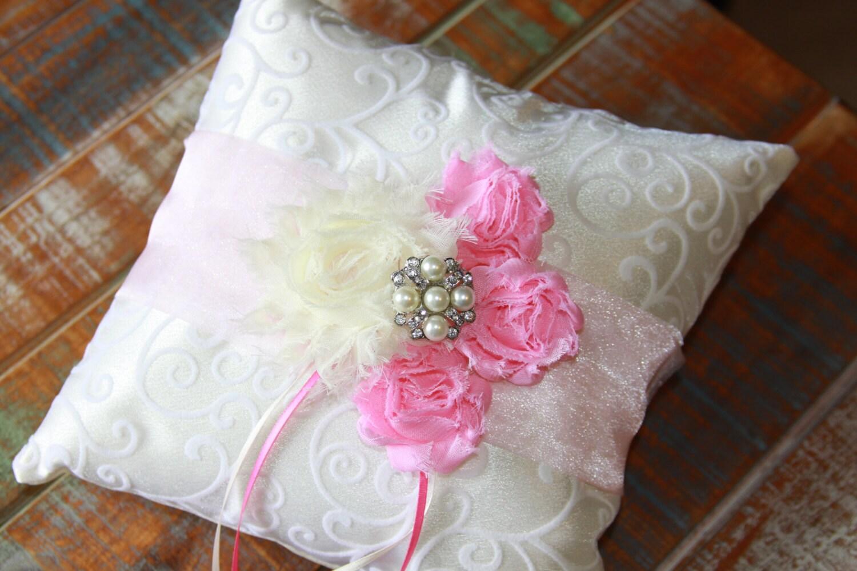 Ring Bearer Pillow Pale Pink Ring Bearer Pillow Pink Ring