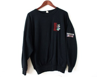 ONE SIZE (XXLARGE+) Vintage 1988 David Lee Roth Skyscraper World Tour Soft and Comfortable Pullover Sweatshirt