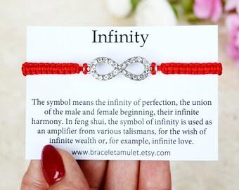 Infinity bracelet Wish bracelet Bridesmaid bracelet Initial bracelet Mother everyday bracelet Infinity charm bracelet Infinity jewelry